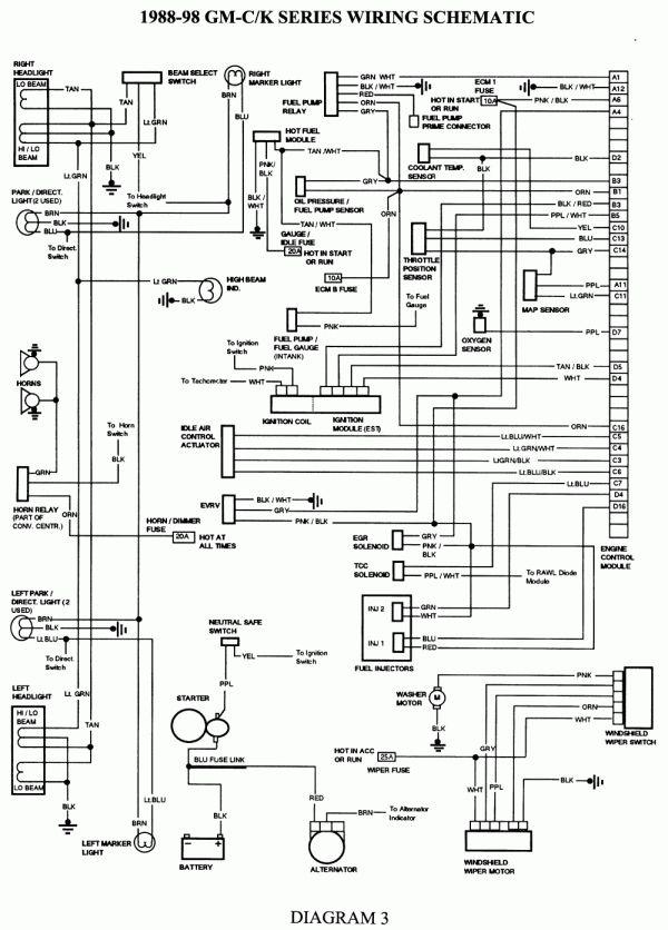 1989 gmc starter wiring diagram schematic  filter wiring