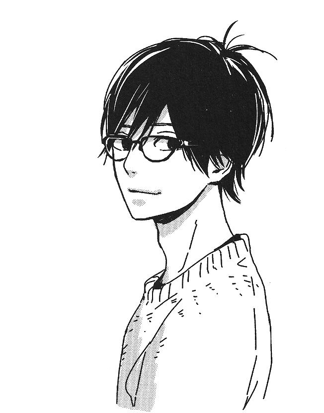 Kakeru with glasses