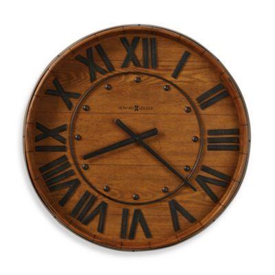 Howard Miller Wine Barrel Gallery Wall Clock Howard Miller Wall Clock Wine Barrel Wall Gallery Wall Clock