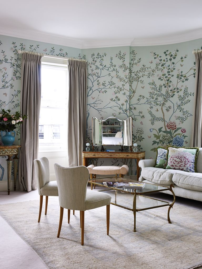 Pin by Fiona Parke on Bedrooms De gournay wallpaper