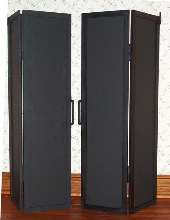 Rumford Fireplace Doors Casas