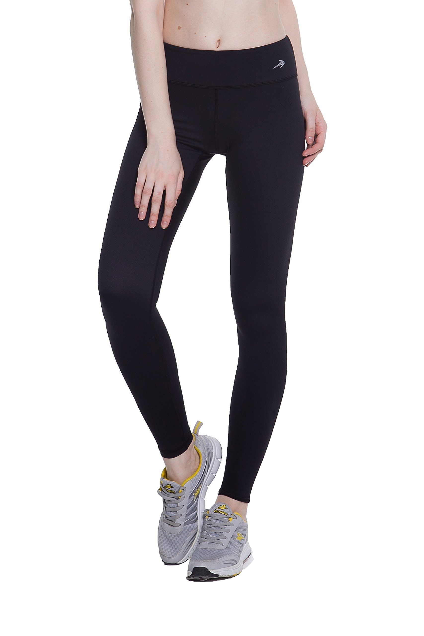 b214855a10 Women's Compression Pants (Black - M) Best Full Leggings Tights for Running,  Yoga