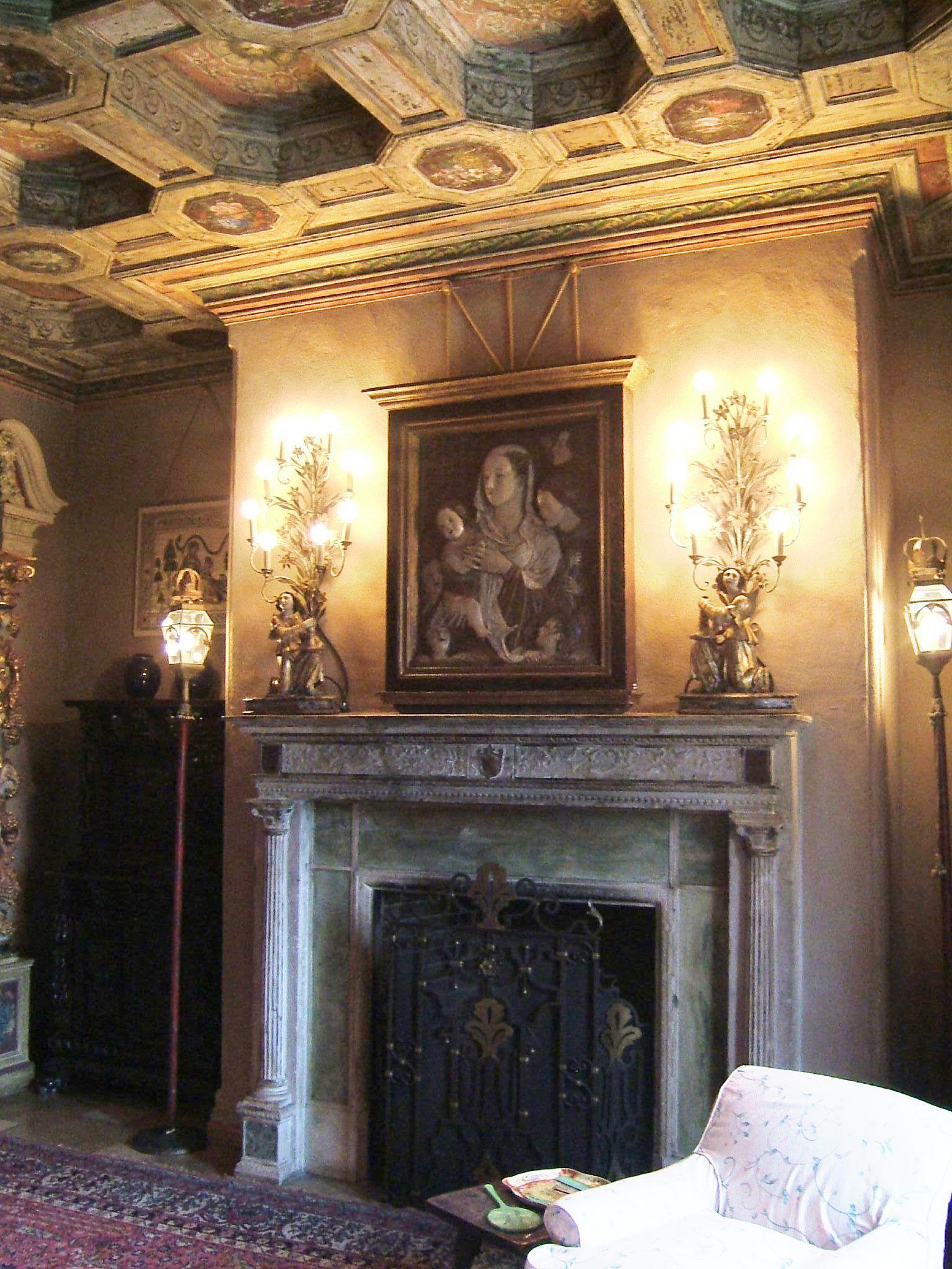 existing Castle fireplace - Google Search | Castle plans ...