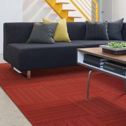 8 00 Reverb In Persimmon By Flor Com 0 234 Thick Brown Carpet Carpet Tiles Home Decor