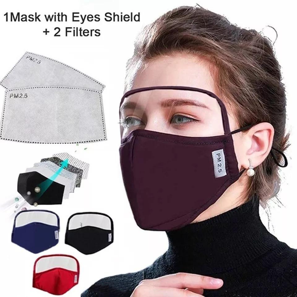 Women Children Girl Mask Cute Windproof Outdoor Dustproof Face Mask Air Filter