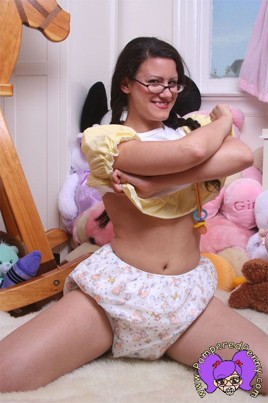 Cloth diaper fetish