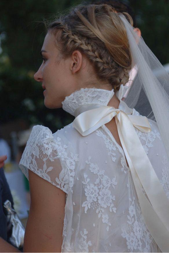 Vestidos de novia (Inspiración) // Wedding dress (Inspiration):  Llevabamos tiempo buscando este precioso vestido de novia :)  #boda #vestidoencaje #velo