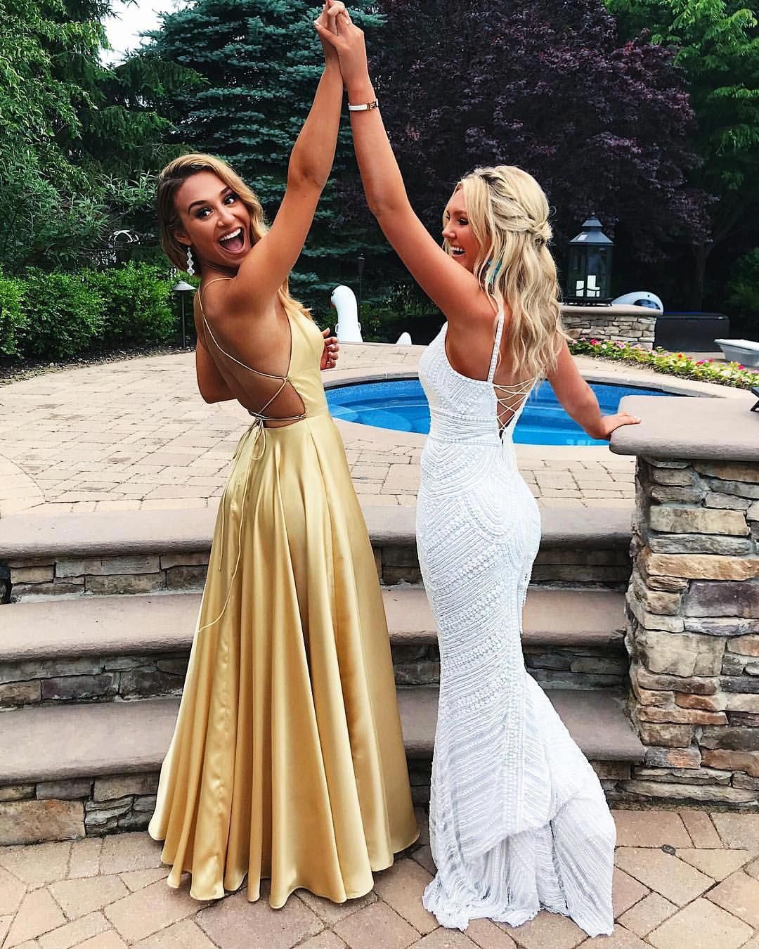 You Won T Stay Friends If You Go To Different High Schools Learntodance Prom Photoshoot Cute Prom Dresses Prom Poses [ 1350 x 1080 Pixel ]