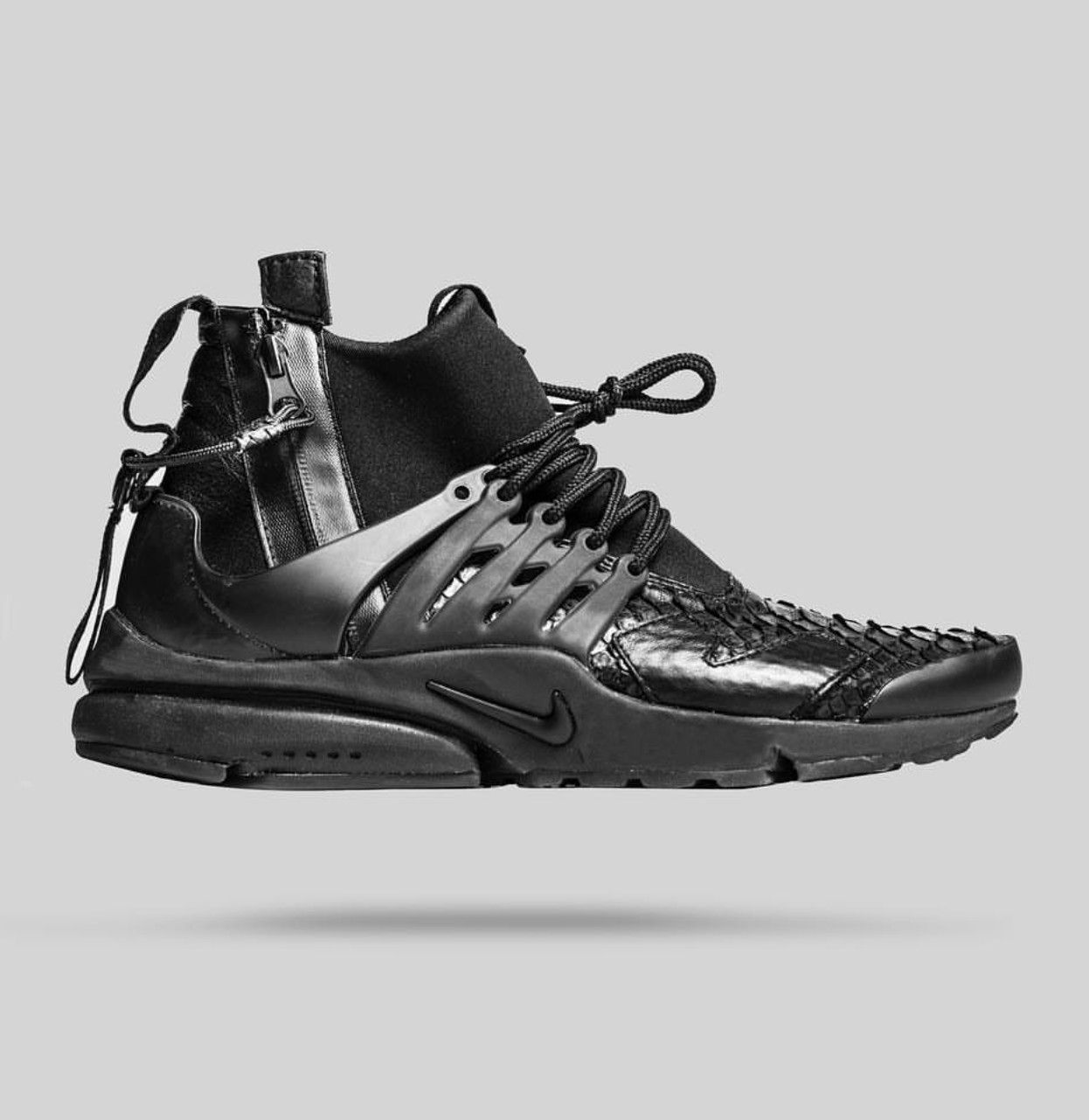 8165da2f59 official store nike triple black acronym presto lux best sneakers sneakers  fashion high top sneakers 67314