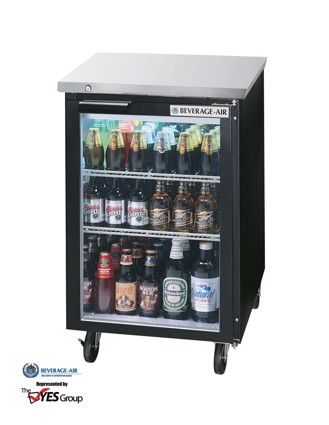 Mini Beer Cooler by BeverageAir in 2019 Beer cooler
