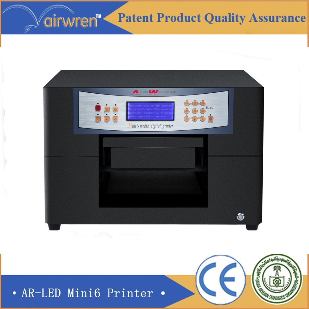 excellent quality a4 size small uv flatbed printer inkjet ...