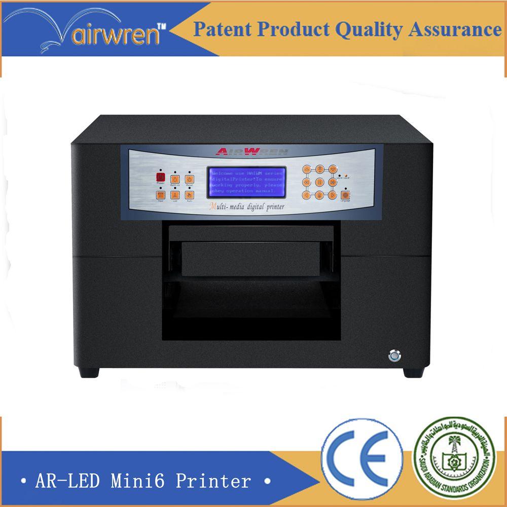 Small Digital Uv Printer Plastic Business Cards Printer High Resolution5760 1440dpi T Shirt Printing Machine Custom T Shirt Printing Business Card Printer