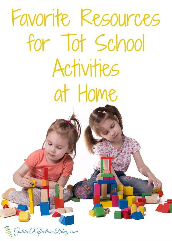 Tips and resources for planning tot school activities at home   www.GoldenReflectionsBlog.com