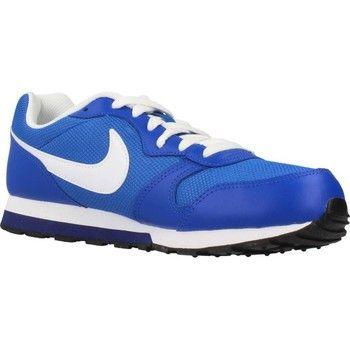 iconische Nike md runner dames sneakers (Blauw)