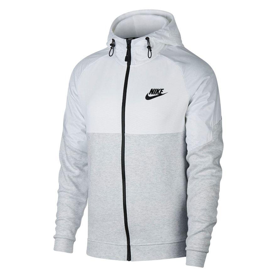Men's Nike AV15 Full Zip Hoodie | Nike men, Mens sweatshirts