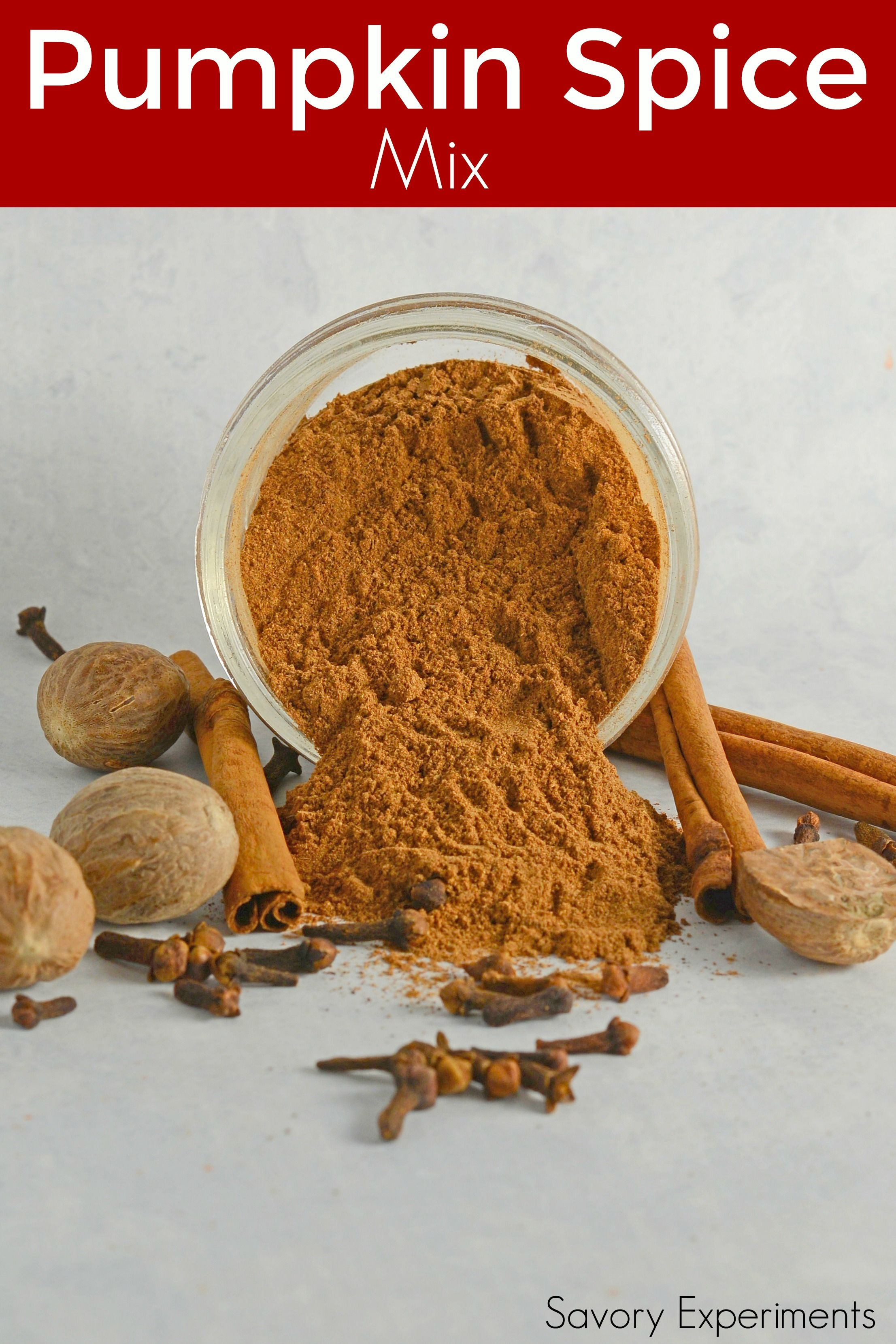 Pumpkin pie spice is a simple recipe made from ingredients