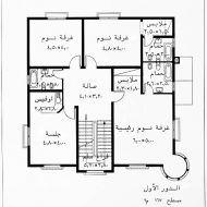 نماذج تصاميم منازل Model House Plan Architectural House Plans House Floor Design