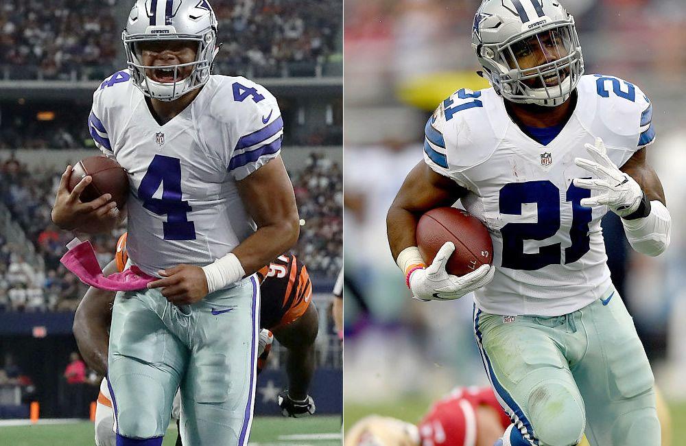 Dallas Cowboys imponen récord en NFL gracias a Prescott y Elliott - Medio Tiempo.com