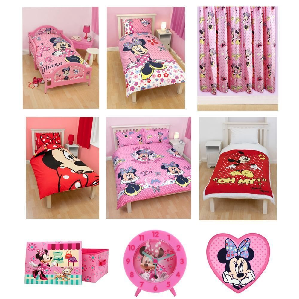 Minnie mouse bedroom bedding accessories mini mouse bedroom pinterest bedrooms room - Mini mouse bedroom ...
