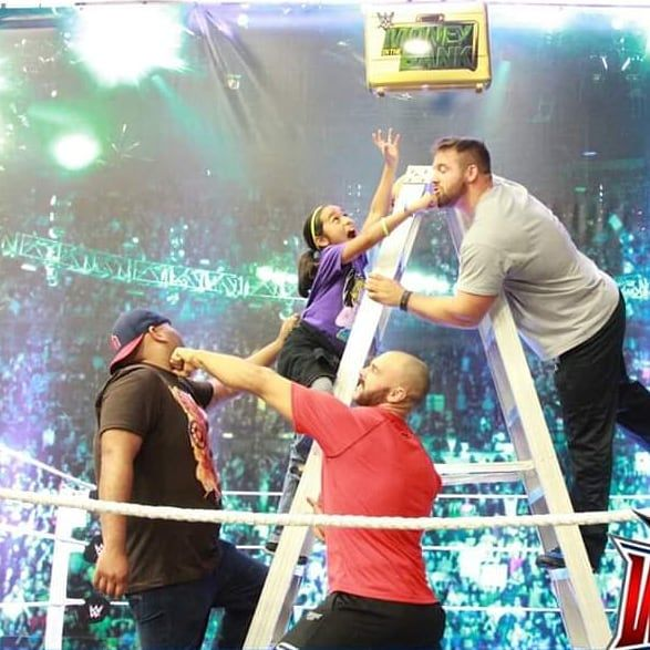 #tbt the time the Doing_the_Orton Podcast crew took on FTR in a ladder match. #prowrestling #professionalwrestler #entertainment #sportsentertainment #indiewrestling #independentwrestling #indywrestling #supportindywrestling #wwe #nxt #impactwrestling #luchaunderground #njpw #roh #barwrestling #aws #aew #allelitewrestling #podcast #interview #youtubeshow #talkshow #FTR #goodtimes