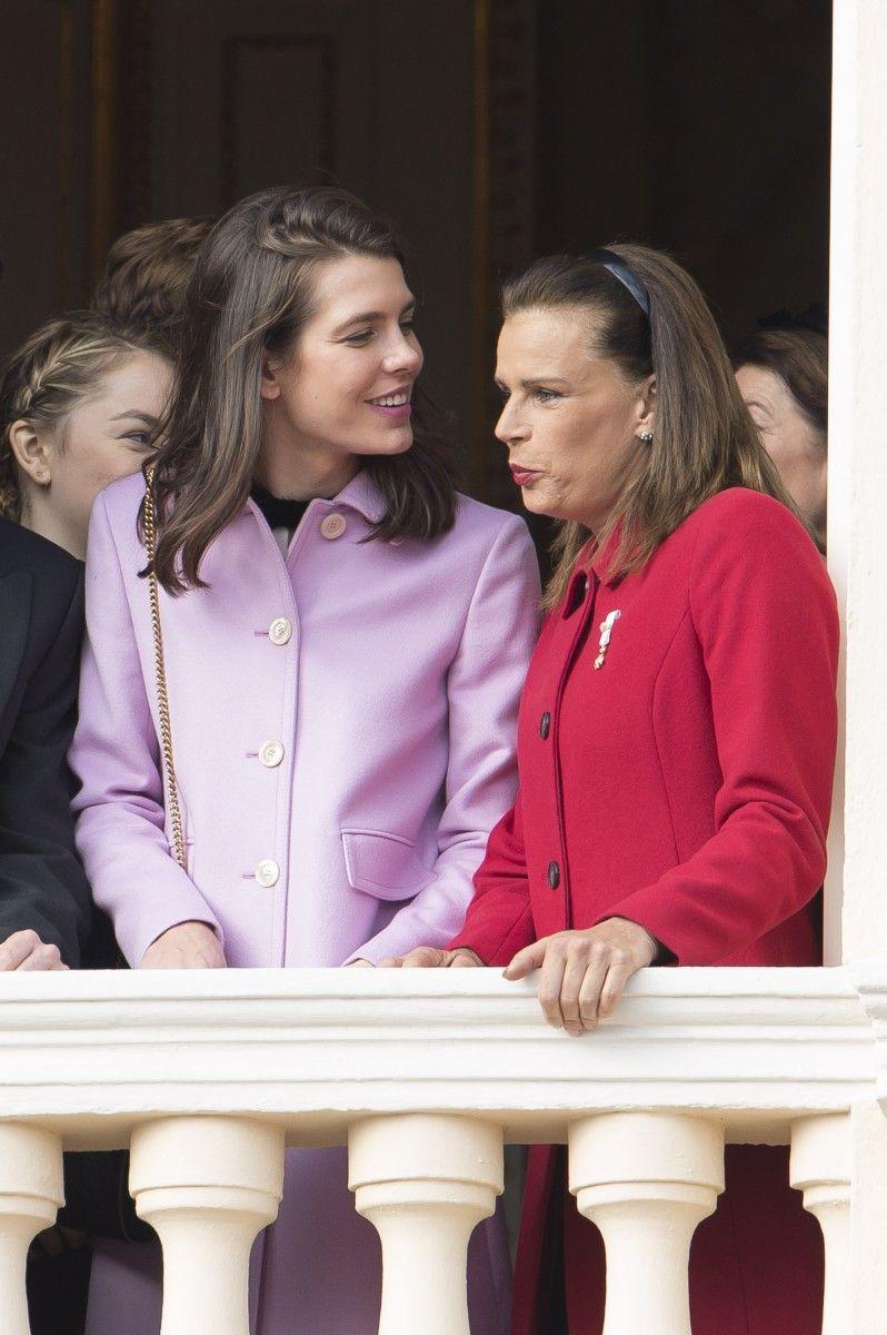 Charlotte Casaraghi & Princess Stephanie of Monaco