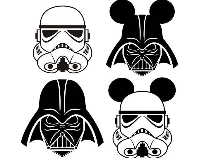 Starwars svg Darth Vader svg disney svg Stormtrooper svg ...