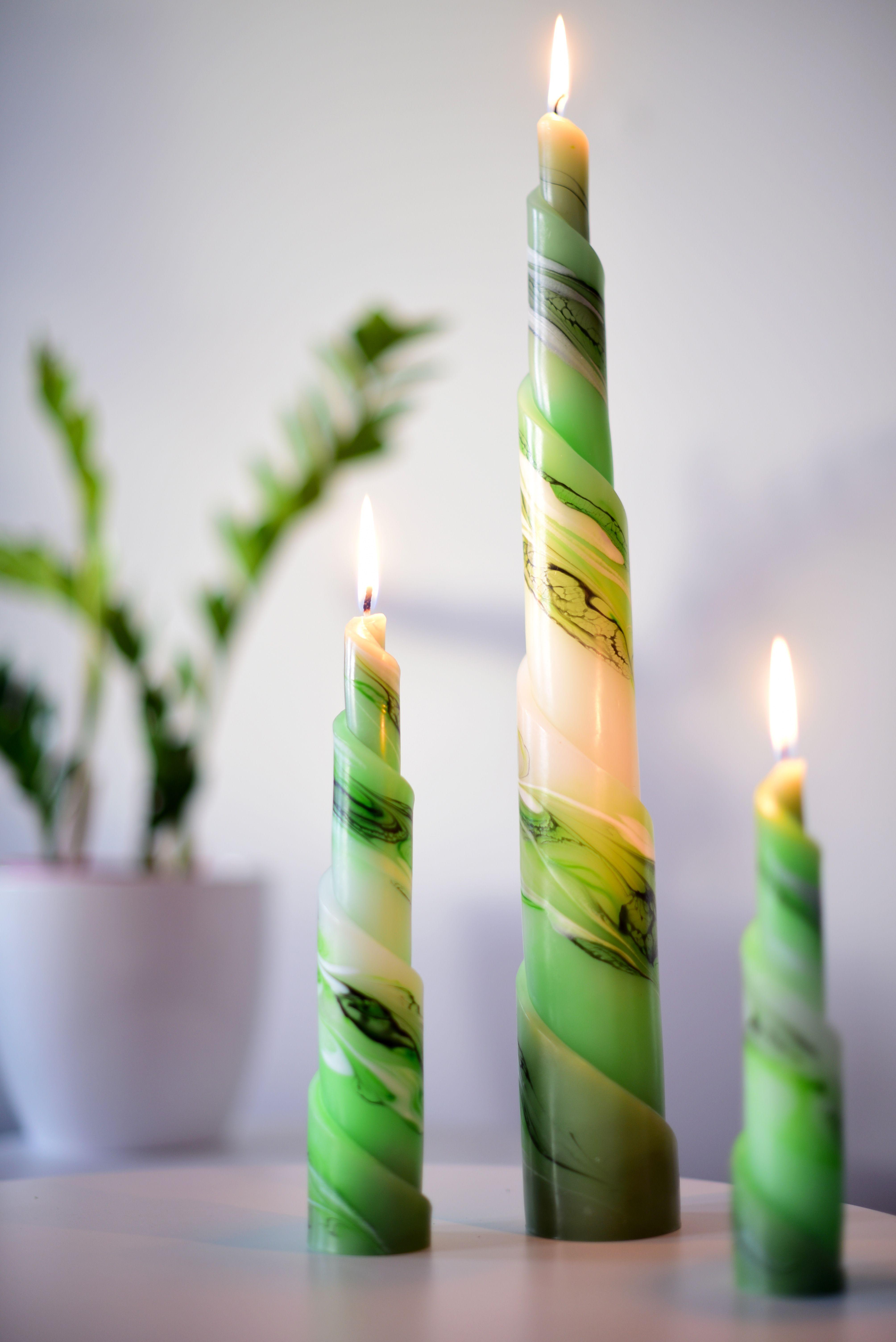 Rulo Kerzen Sind Die Lang Gedrehten Eleganten Modelle Bei Elem