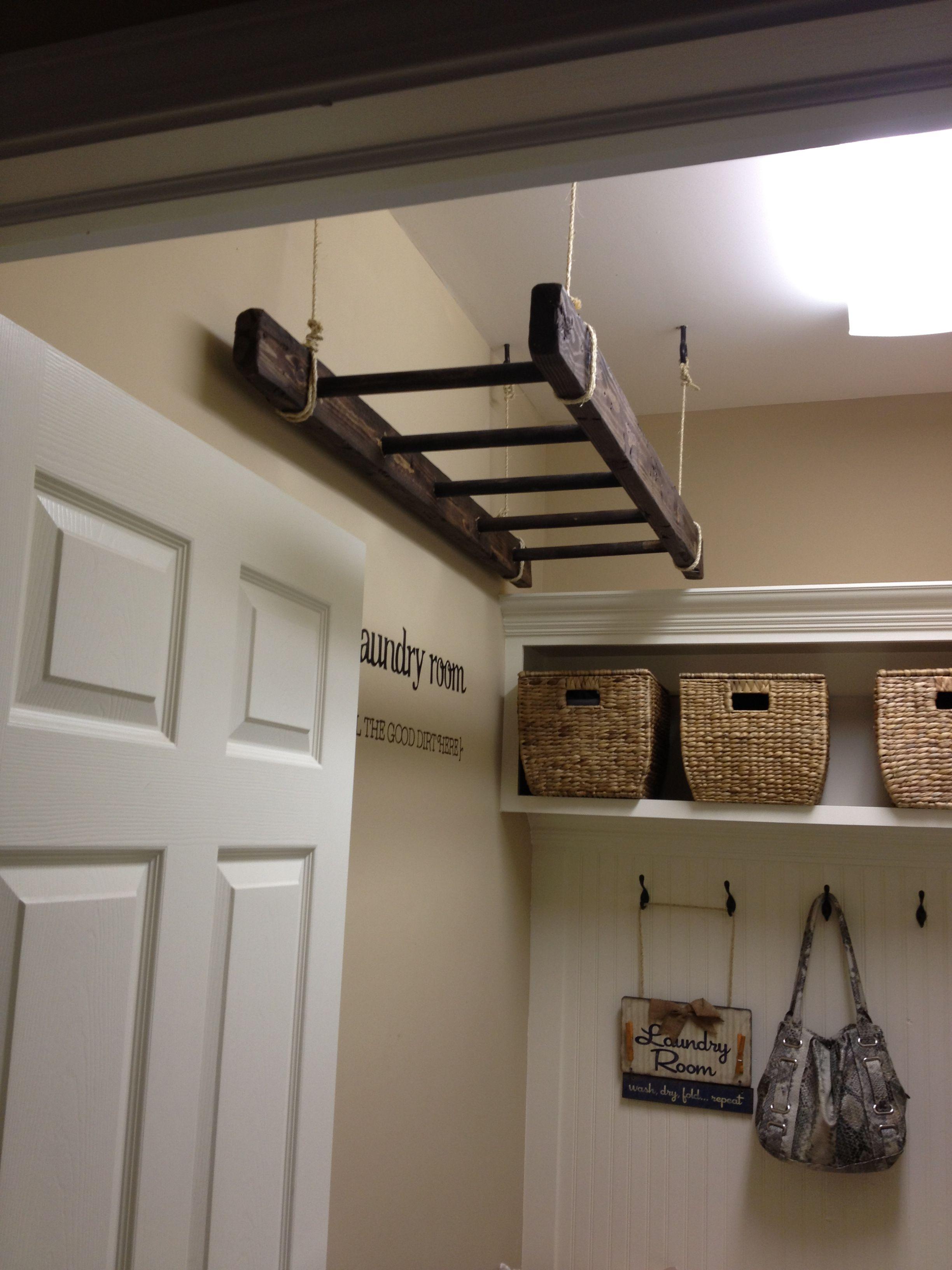 Decoratie Ladder Badkamer : In stappen een stoere badkamer roomed