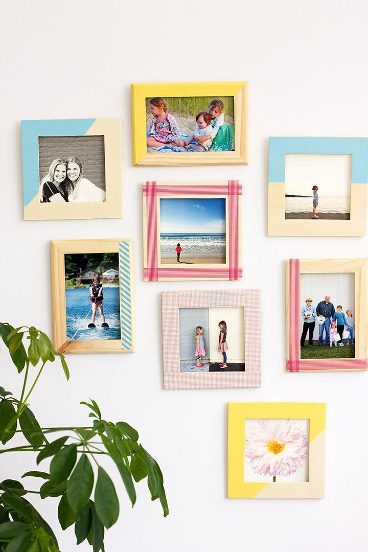 DIY Washi Tape Frames | For My Walls | Pinterest