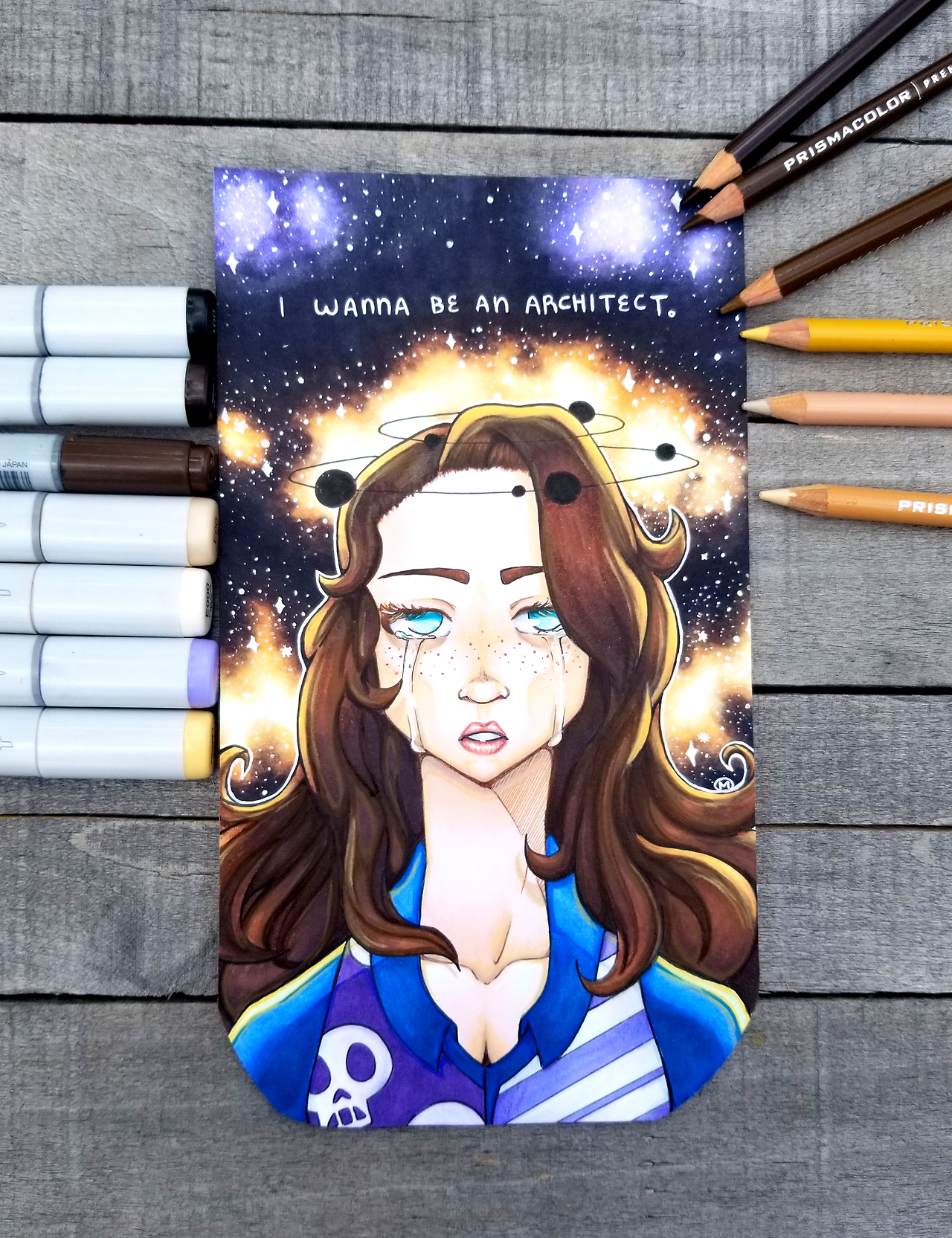 I Wanna Be An Architect Sarah Lynn Is Complete I M Beyond Happy With How This Came Out And Happy That I Got To Work O Bojack Horseman Horseman Epic Art