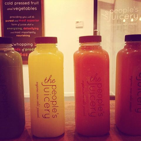 Hydrate @peoplesjuicery! Organic fresh pressed juice ready to serve #juicecleance #raw #Vancouver #yaletown