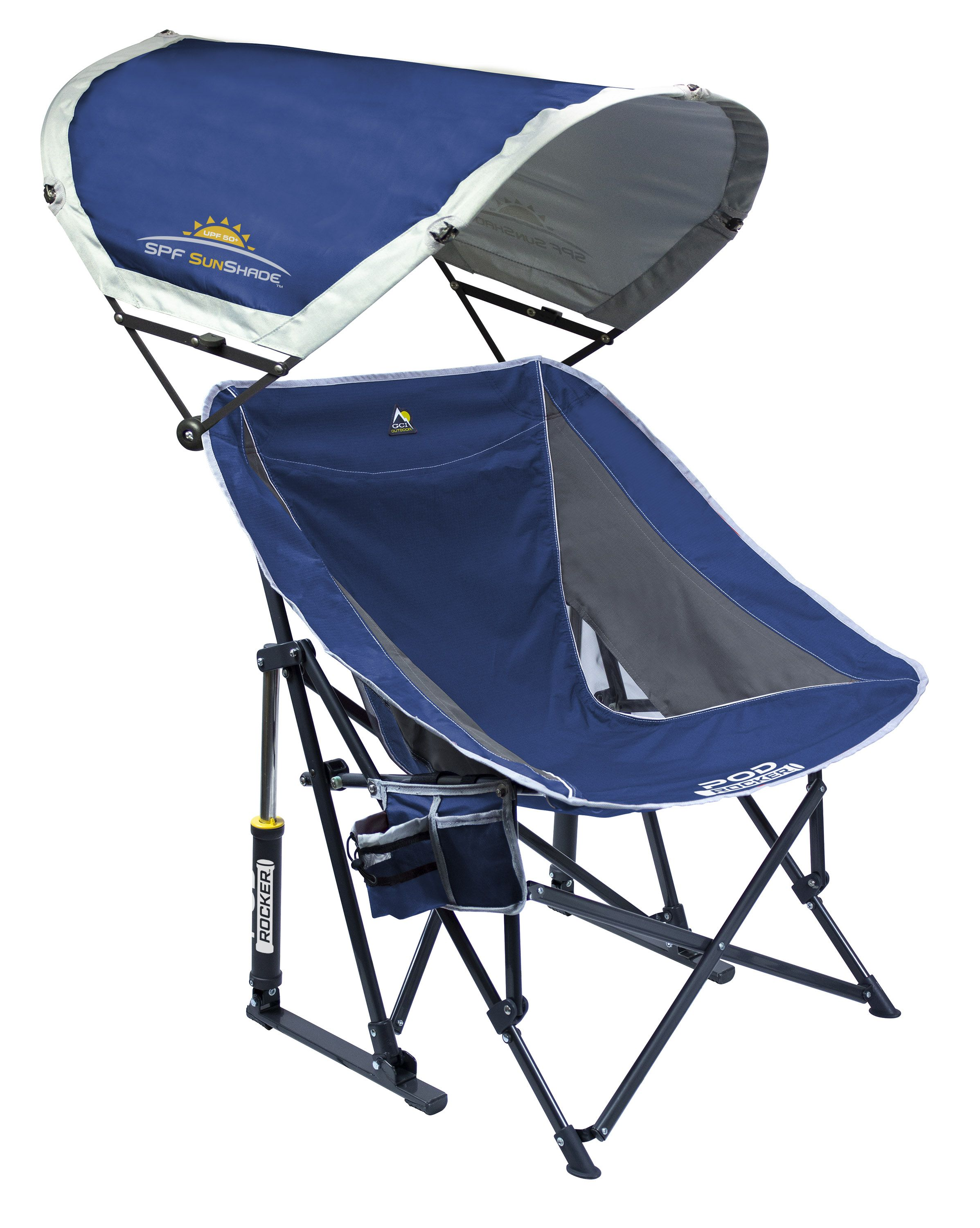 Pod Rocker X2122 With Sunshade Blue Patio
