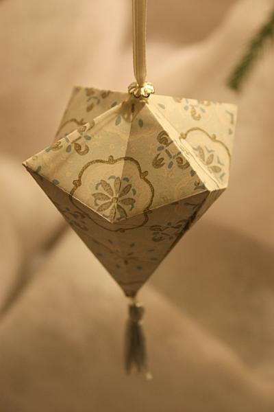 Origami Ornament Ori Pinterest Origami Ornaments Origami And