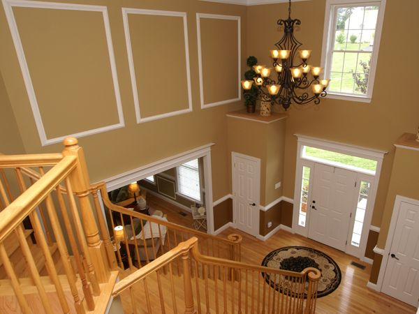 Painting Two Story Foyer Two Story Foyer Ideas For The House