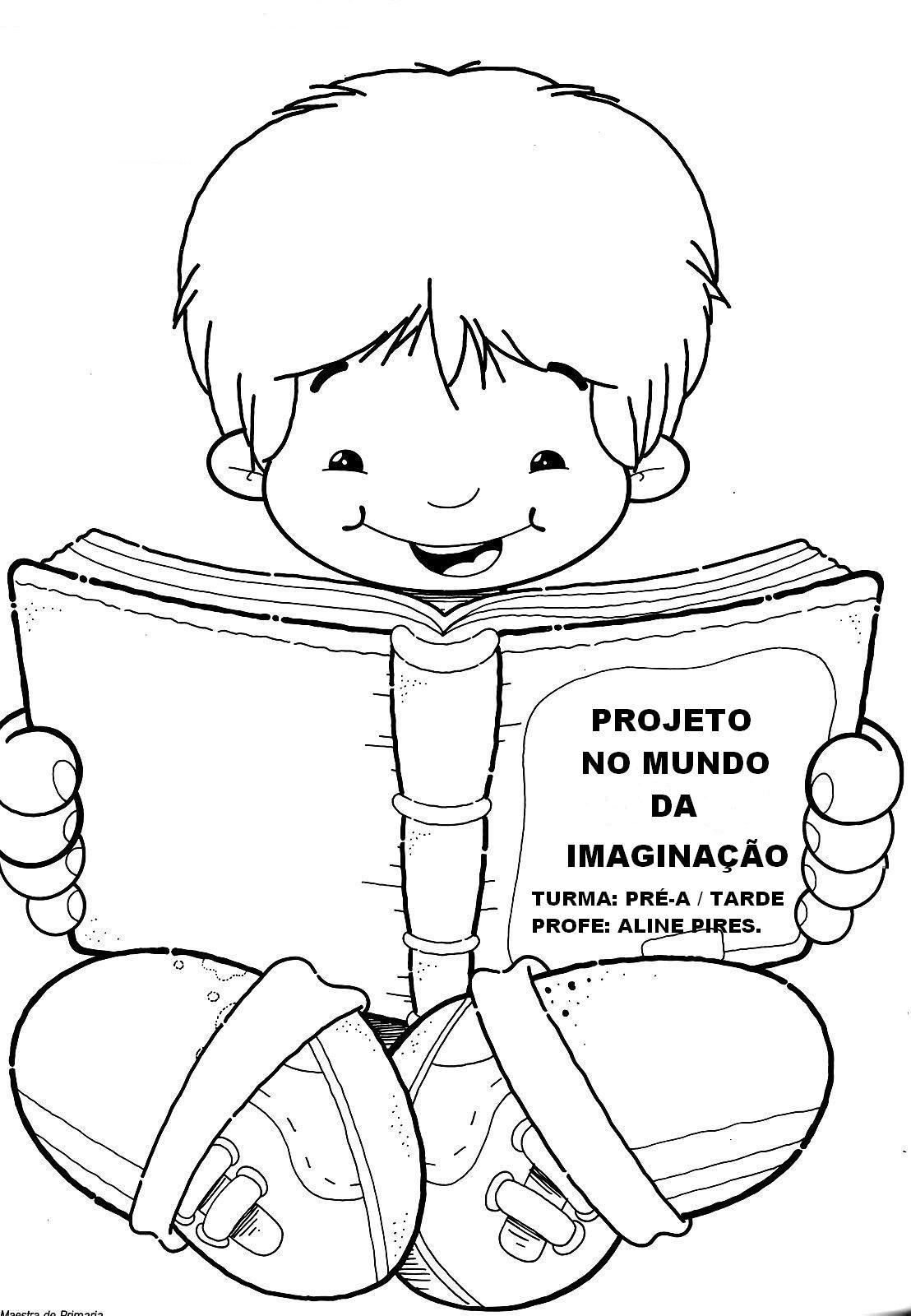 Profª Elaine Lourenco Projeto Literatura Infantil Desenho De