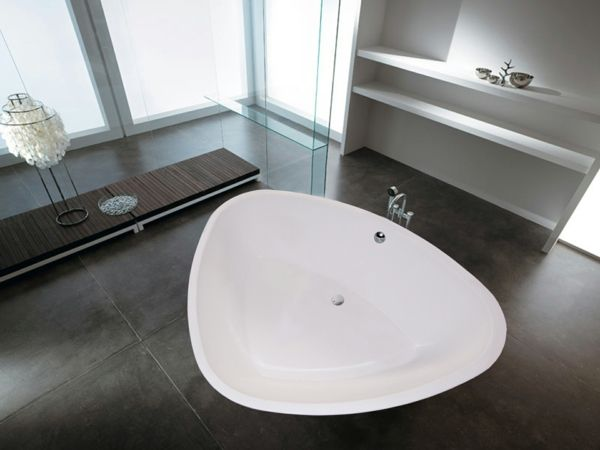 freistehende badewannen luxus badewanne luxusbäder Haus - freistehende badewanne raffinierten look
