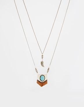 Limited+Edition+Multirow+Necklace+with+Horn