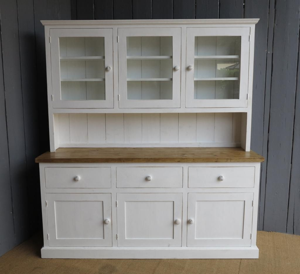 Reclaimed Pine Kitchen Dresser Made To Measure