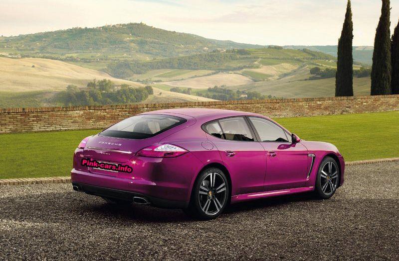 Porsche Panamera Pink Porsche Panamera Porsche Luxury Cars