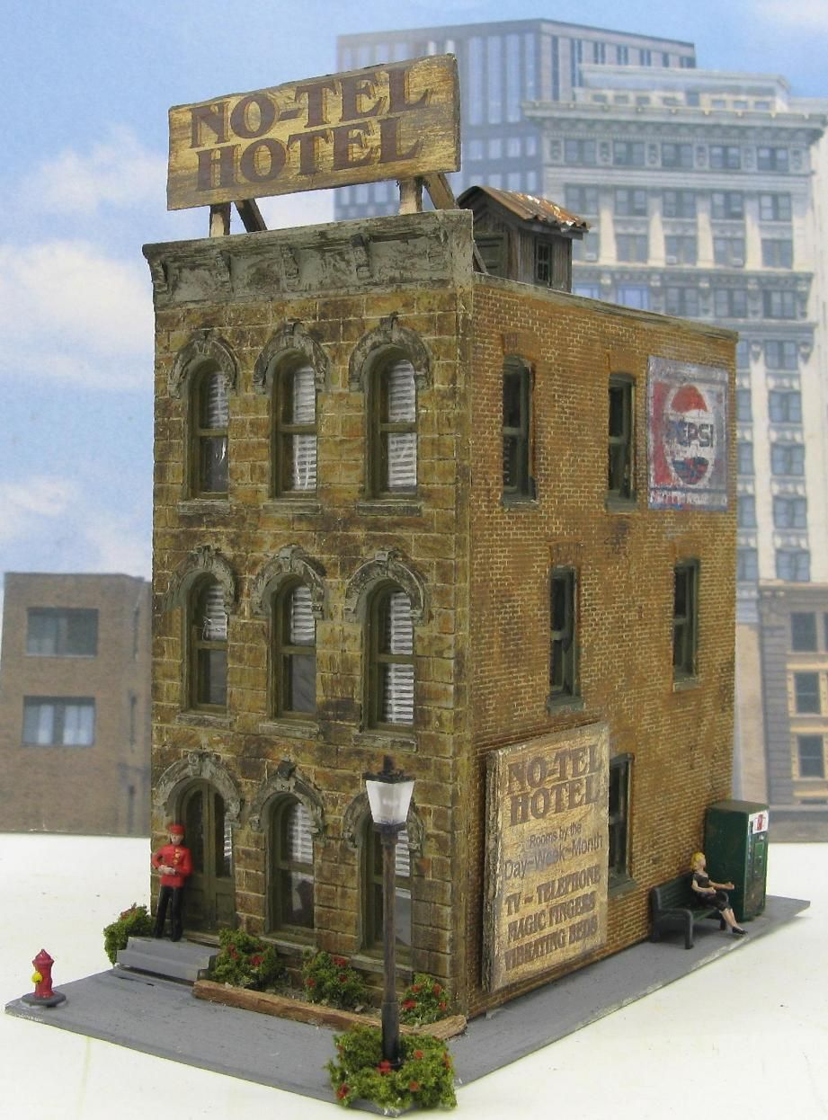 Sold Structures | builings | Model train layouts, Ho scale buildings