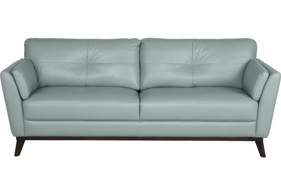Best Blue Grey Leather Sofa With Images Blue Leather Sofa 400 x 300