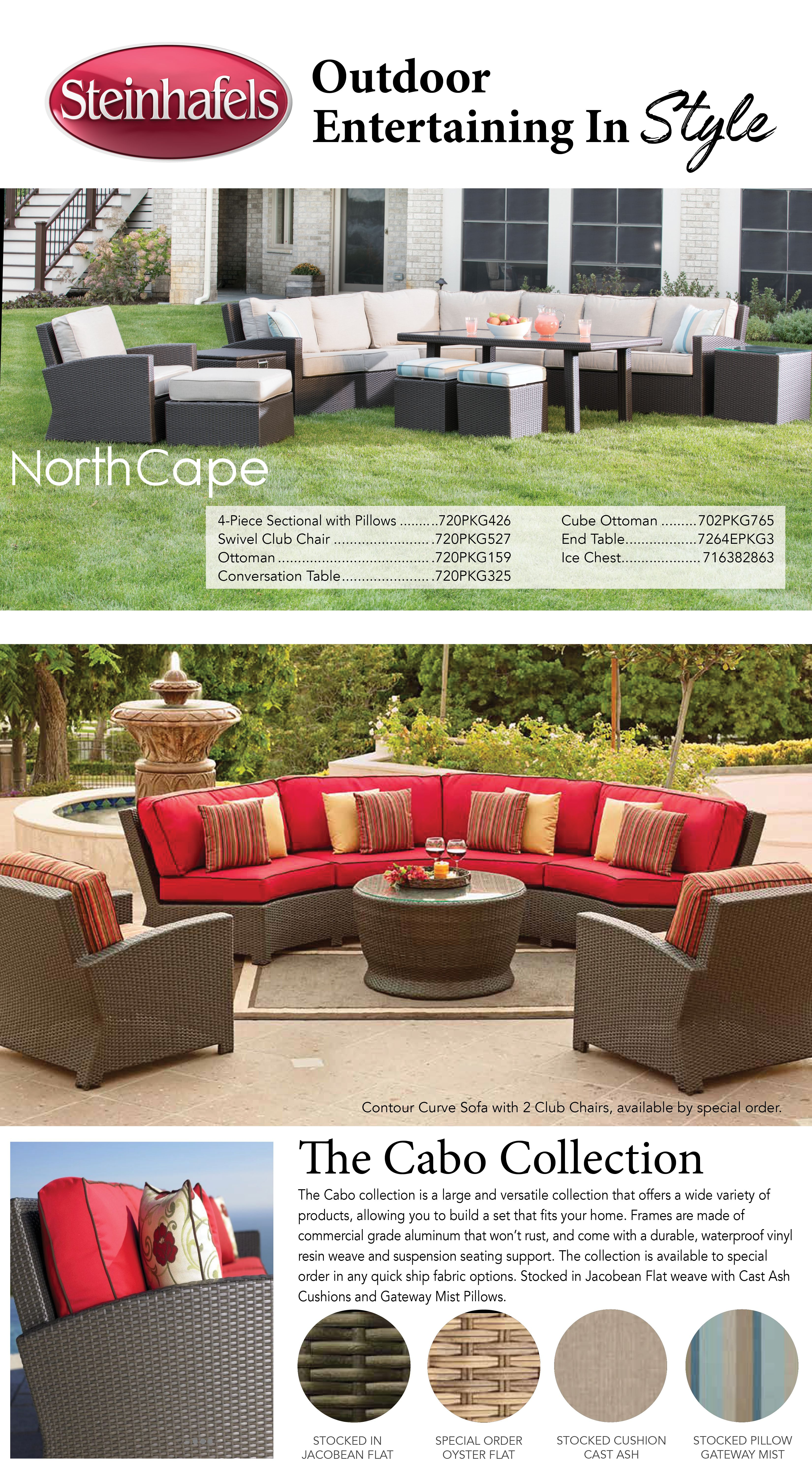 steinhafels northcape patio farm house living room outdoor furniture sets patio
