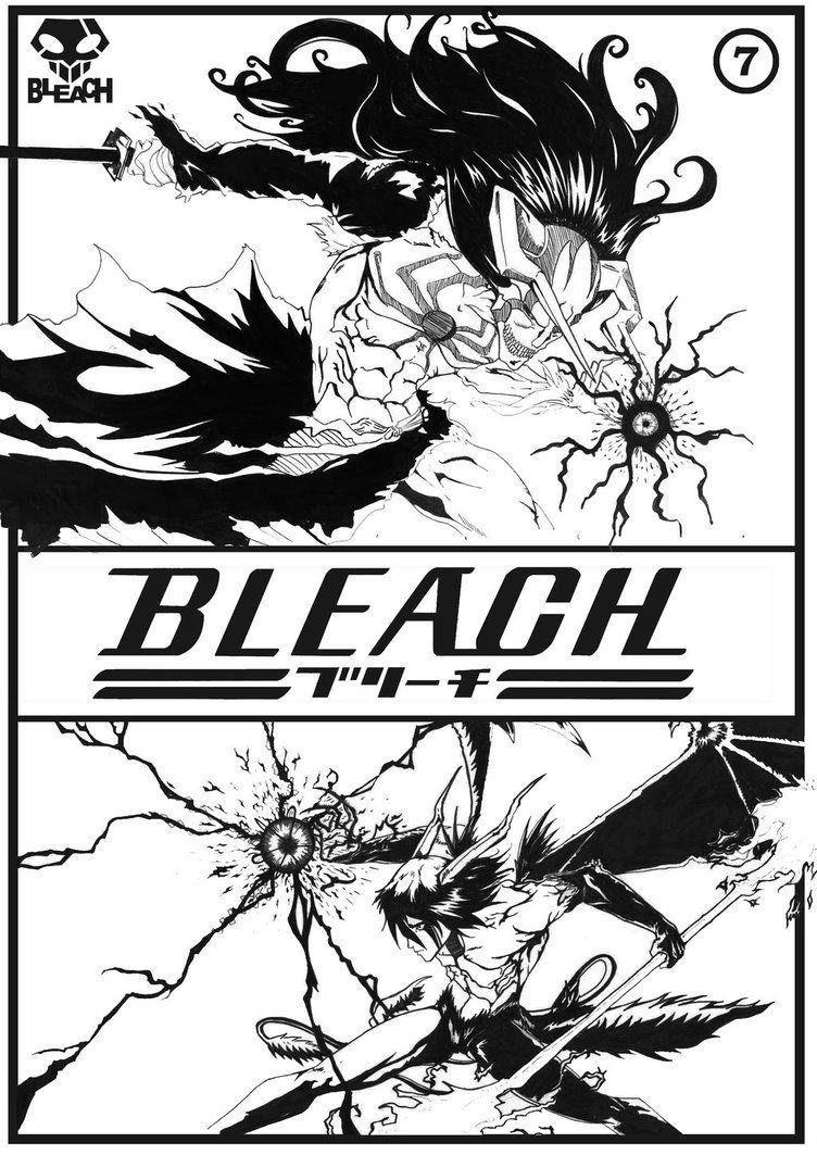 Ichigo Vs Ulquiorra By Zounky Bleach Anime Bleach Manga Manga Covers