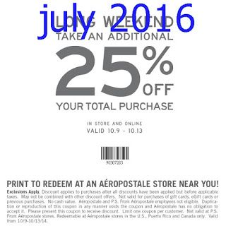 Aeropostale Coupons Free Printable Coupons Promo Codes Online