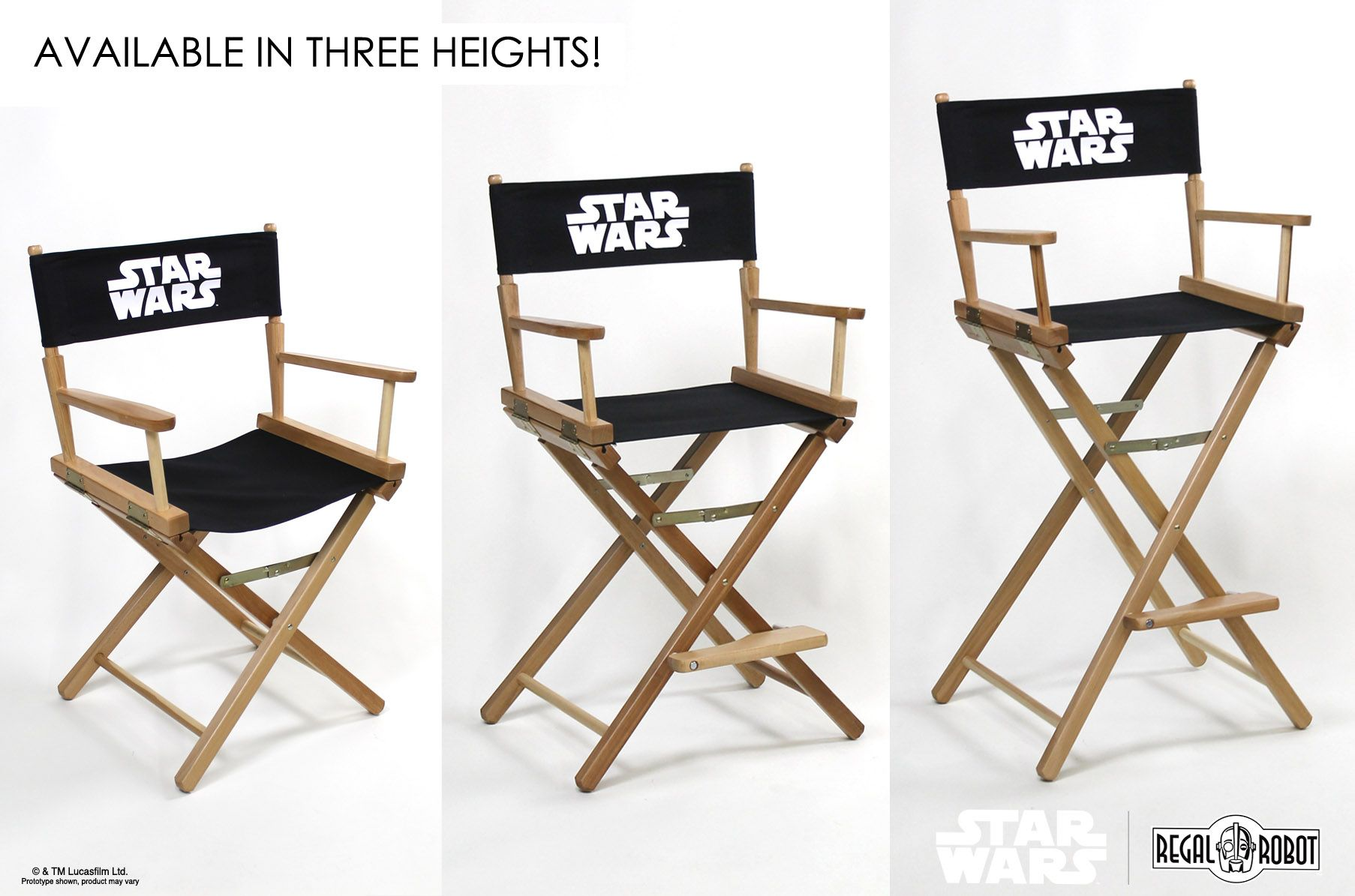 Incroyable Star Wars™ Directors Chairs   Regal Robot