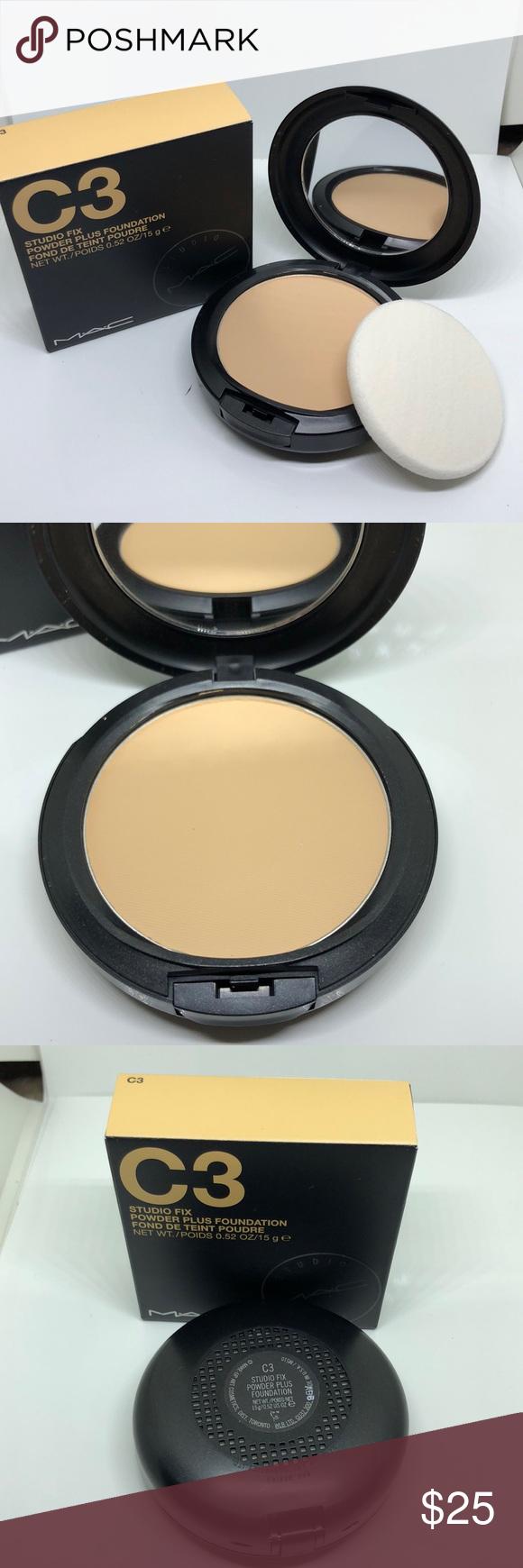 Mac studio fix powder plus foundation c3 New Mac studio