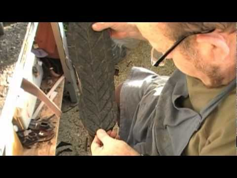 shoe repair:How to convert winter tires to boot soles