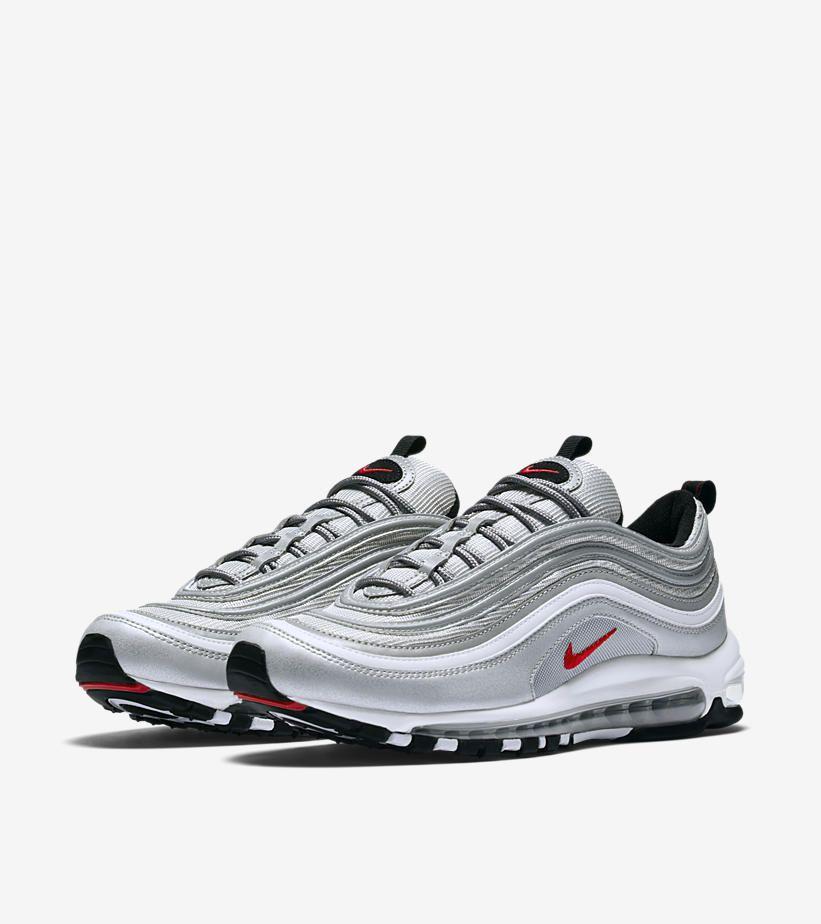 Nike Air Max 97 Silver Bullet OG QS Sneaker Schuhe Sportschuhe