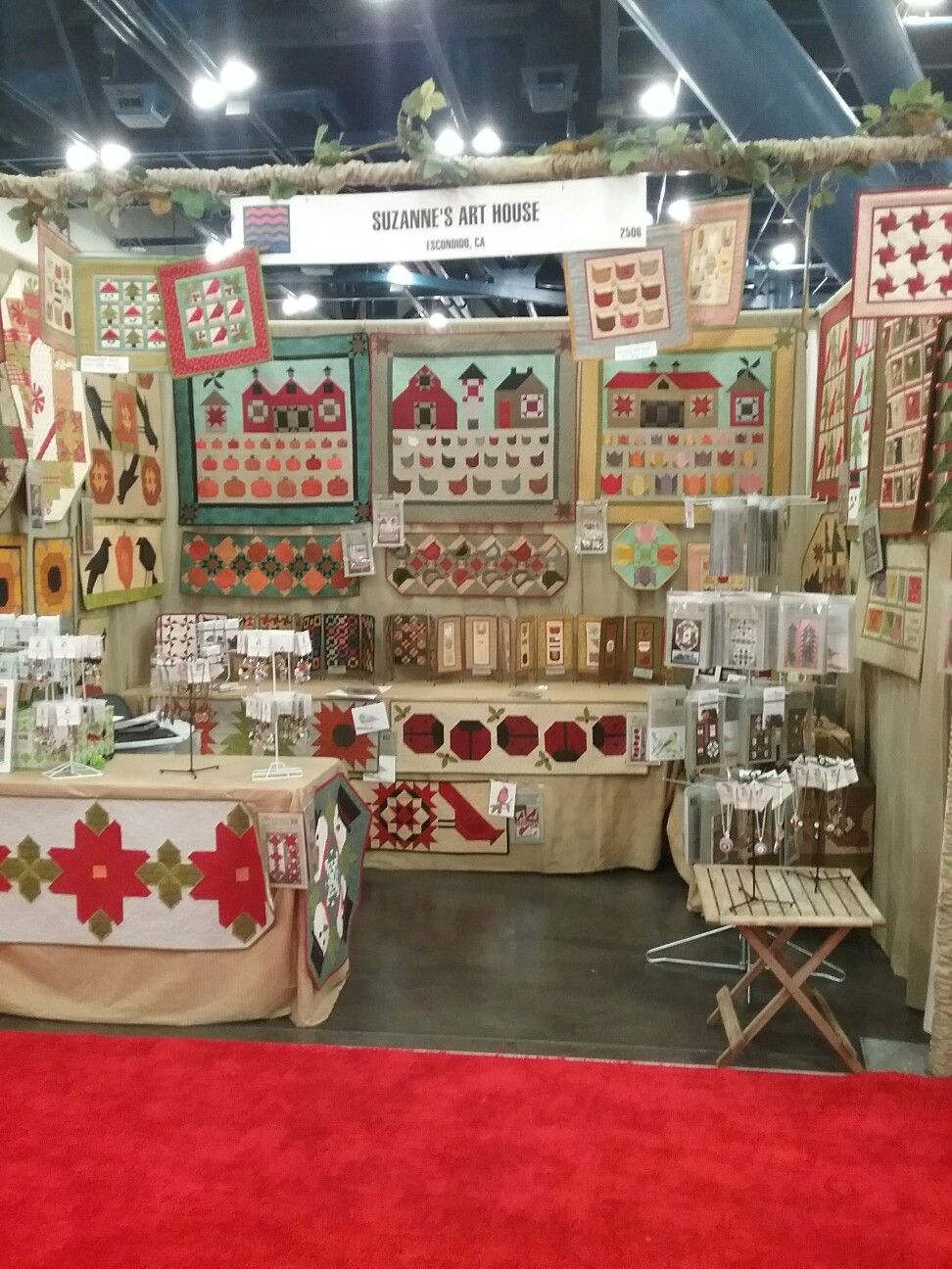 Suzanne's Art House booth at Fall Houston market 2016