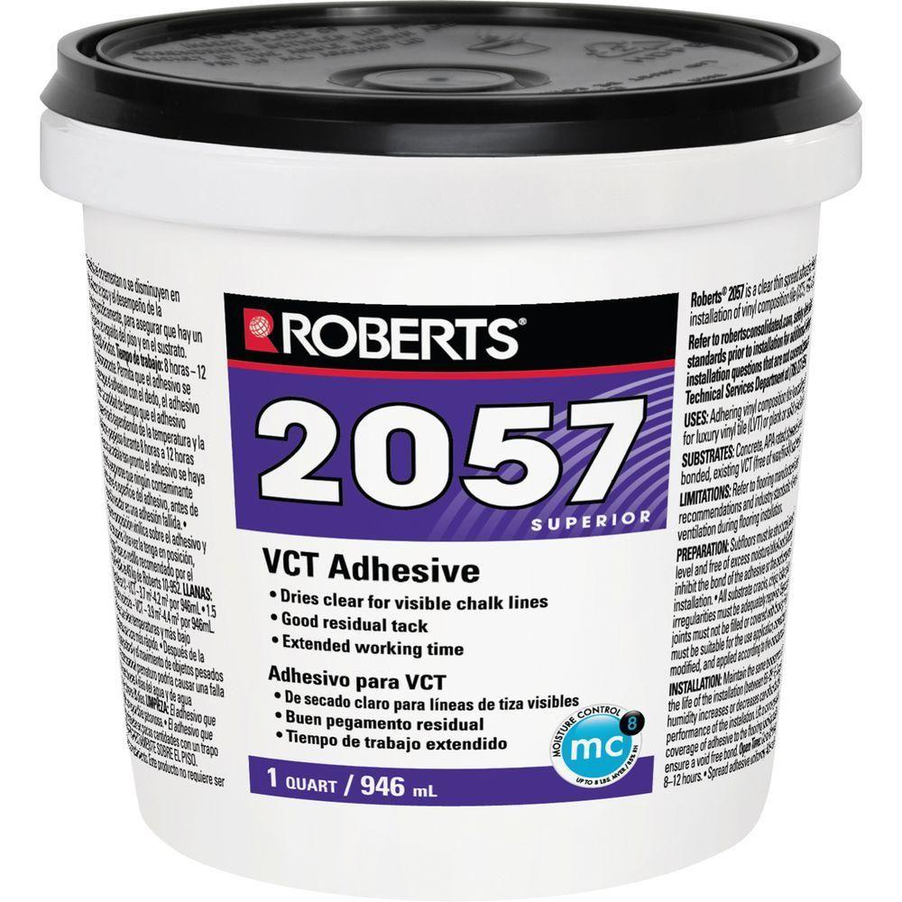 Roberts 2057 1 Qt. Premium Vinyl Composition Tile Glue